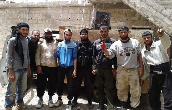 AL-ZAARA: COUNTERATTACK TO REGAIN THE VILLAGE; HUGE RODENT LOSSES IN DAMASCUS AND QUNAYTRA 2