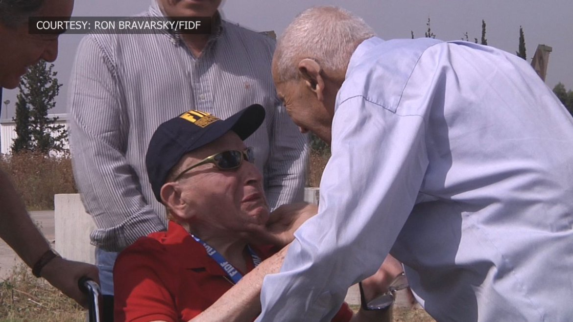 WWII Vet reunited with man he saved from concentration camp
