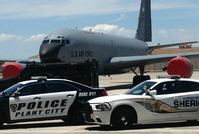 MacDill AFB honors law enforcement for National Peace Officers Week  @TrevorPettiford