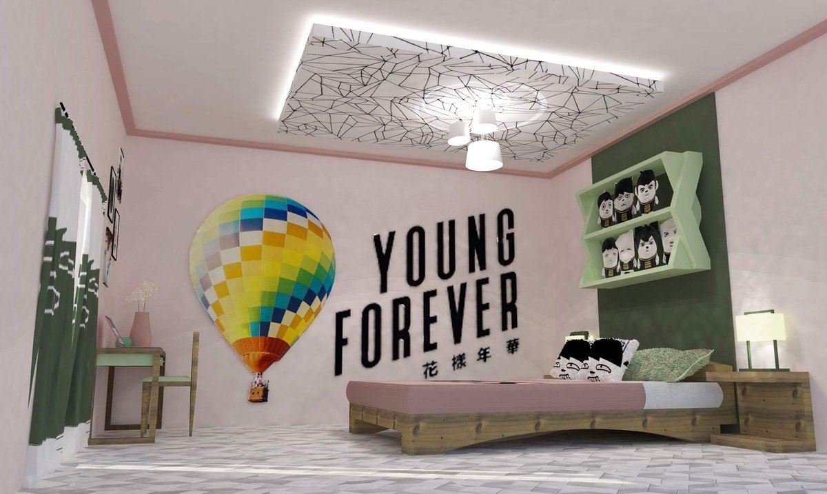"""Coleen - inactive ? on Twitter: """"A BTS inspired bedroom. # ... on Room Decor Bts id=76013"""