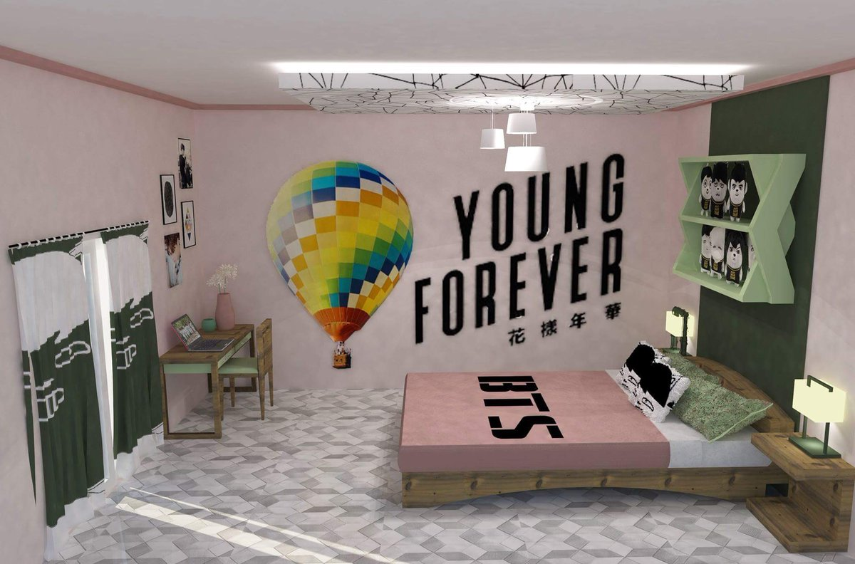 """Coleen - inactive ? on Twitter: """"A BTS inspired bedroom. # ... on Room Decor Bts id=33735"""