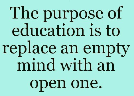 Info Gecconsultant Co Uk On Twitter Thought Of The Day Education Brings About Opportunity And In Turn Inspiration