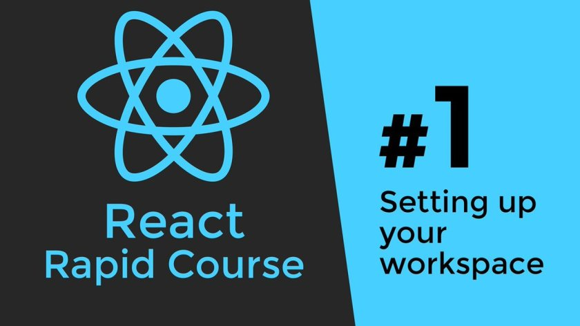 REACT JS TUTORIAL #1 - Reactjs Javascript Introduction & Workspace... r1G6_2z7f ☞