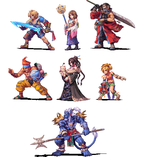 PixelProspector On Twitter Final Fantasy X Gt