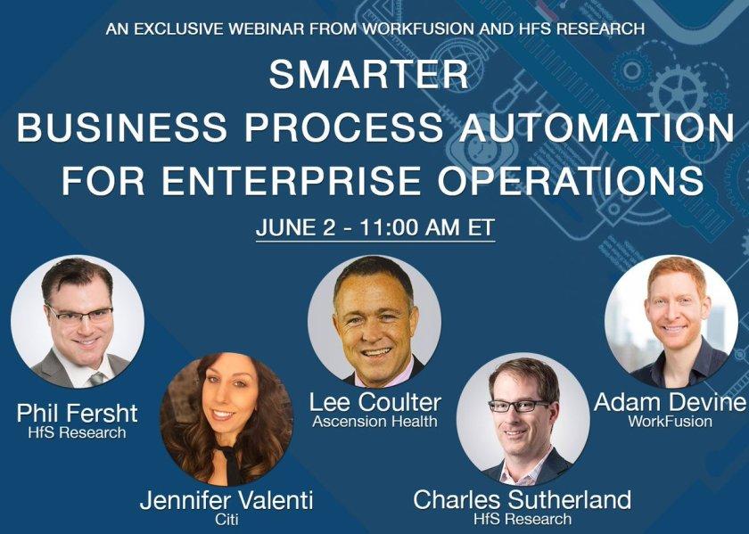 6/2 Webinar: Adding Intelligence to Business Process #Automation through #MachineLearning:
