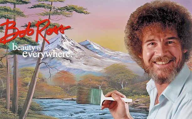 Best news of the summer: Bob Ross painting series now on @netflix:  #BobRossAndChill #trees