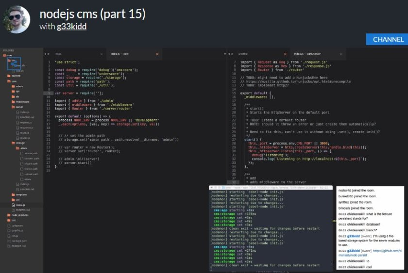 @_ericelliott @reactjs check out how to create #CMS using #JavaScript with #NodeJS