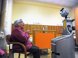 Would You Trust a Robot to Give Your Grandmother Her Meds?  #Robots #AI