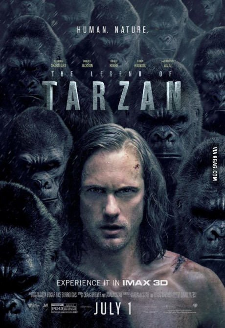 The Legend of Tarzan IMAX Trailer Featuring Alexander Skarsgård 1