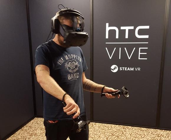 I'm a believer: How HTC's Vive convinced me that VR has legs  via @pcworld #HTCvive #VR