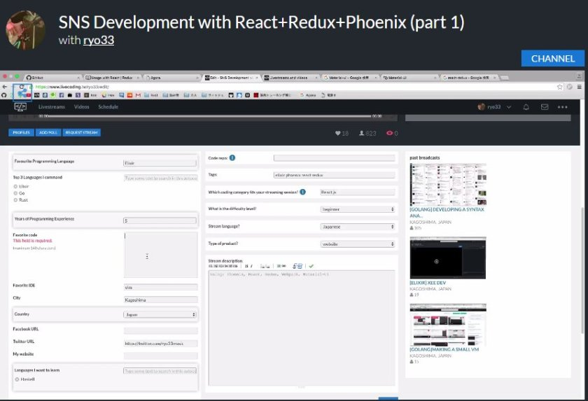@ChromiumDev @addyosmani @reactjs @emberjs @angularjs watch #SNS Development with #React