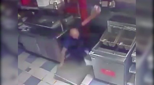 VIDEO: Florida man breaks into a business, falls through ceiling while making his getaway