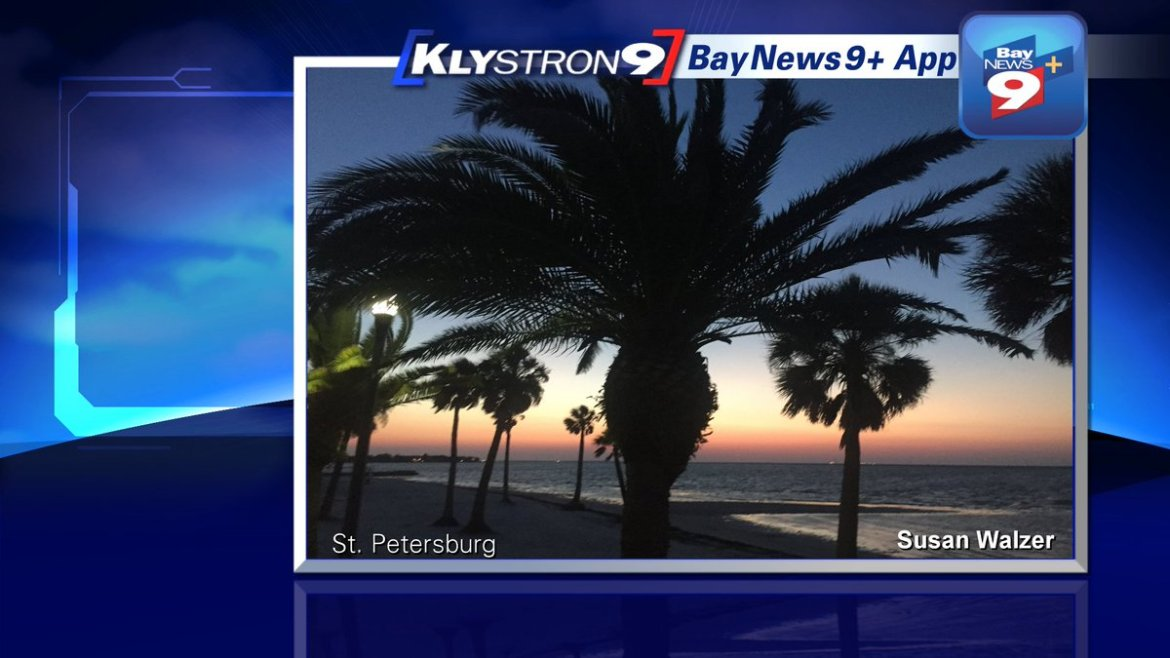 Juli Marquez: It's warm and breezy today. Most of us will stay dry. Forecast on @BN9 & here: