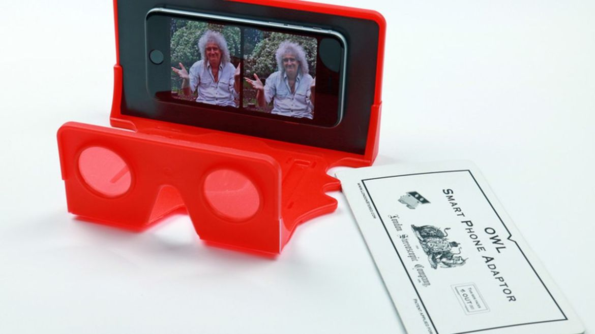 Queen's Brian May is making a VR viewer to speed the demise of reality
