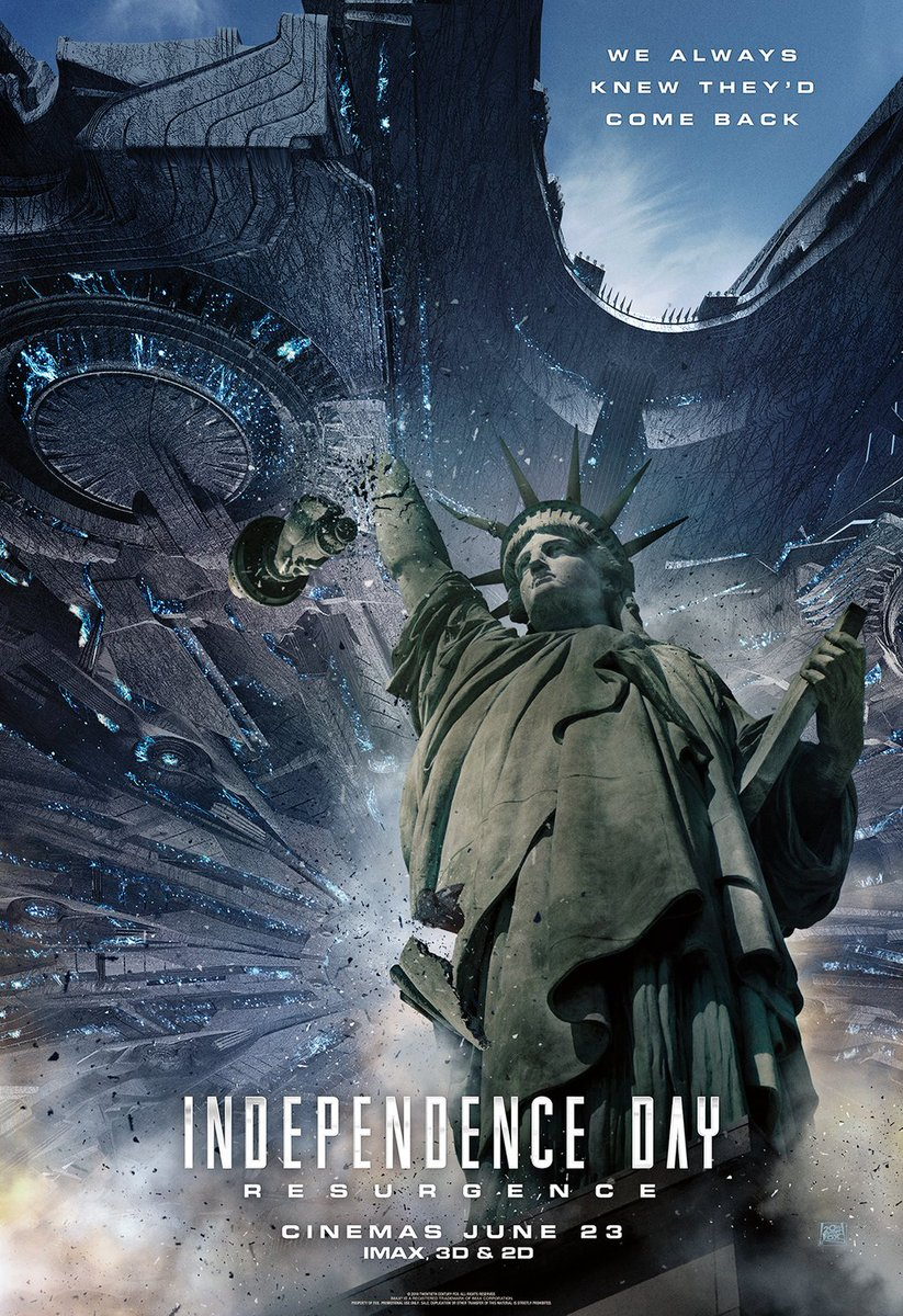 New Independence Day: Resurgence Posters Revealed 1