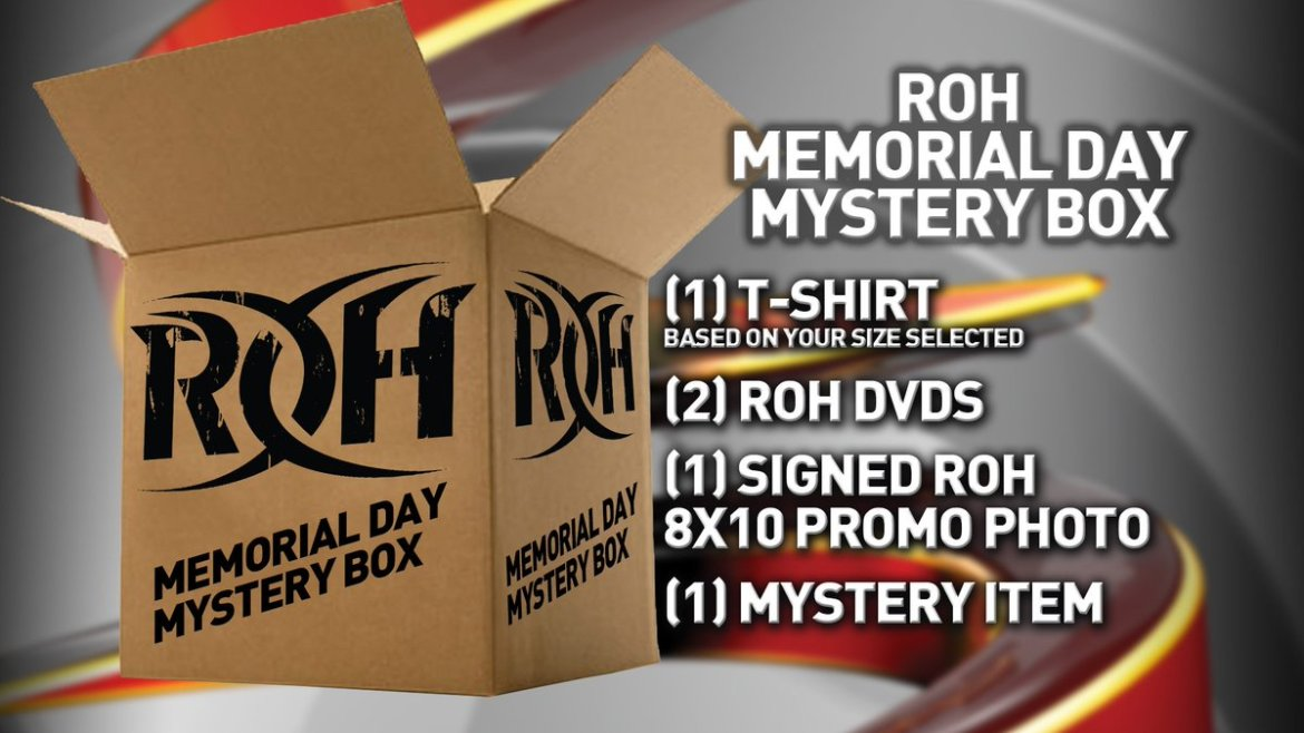 The #ROH #MemorialDay Mystery Box! is available now!
