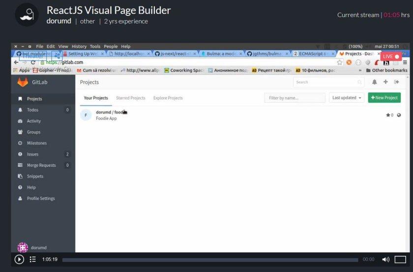 ReactJS Visual Page Builder #ReactJS #programming