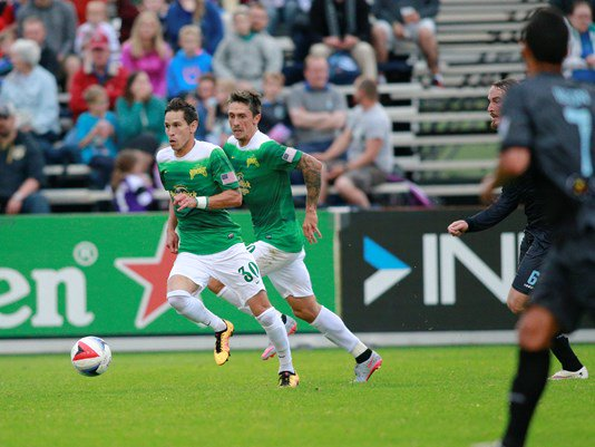 #Rowdies pick up 2-0 road win over #Minnesota United FC