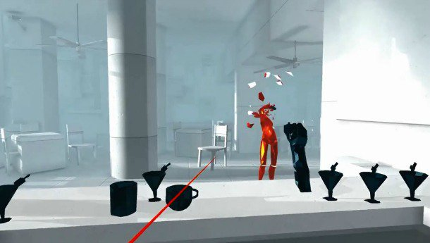 Superhot VR is coming this year, and it'll be an Oculus Touch title first.
