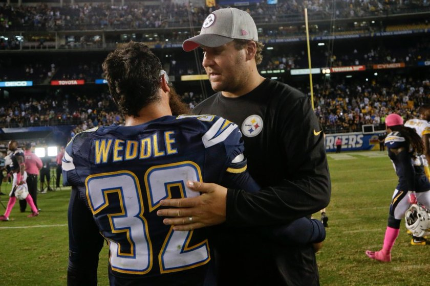 Ben Roethlisberger wanted Steelers to sign Eric Weddle, now the 'enemy'
