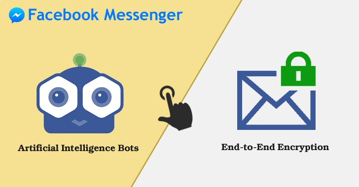 #Facebook Messenger App — Choose either End-to-End #Encryption or Artificial Intelligence