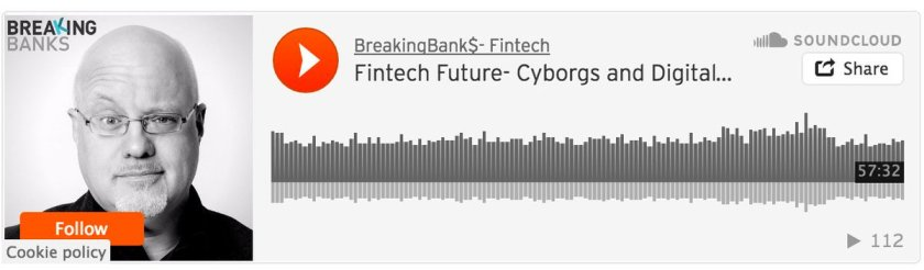 Podcast by @brettking   The #Fintech future – cyborgs and digital currency    #AI #blockchain