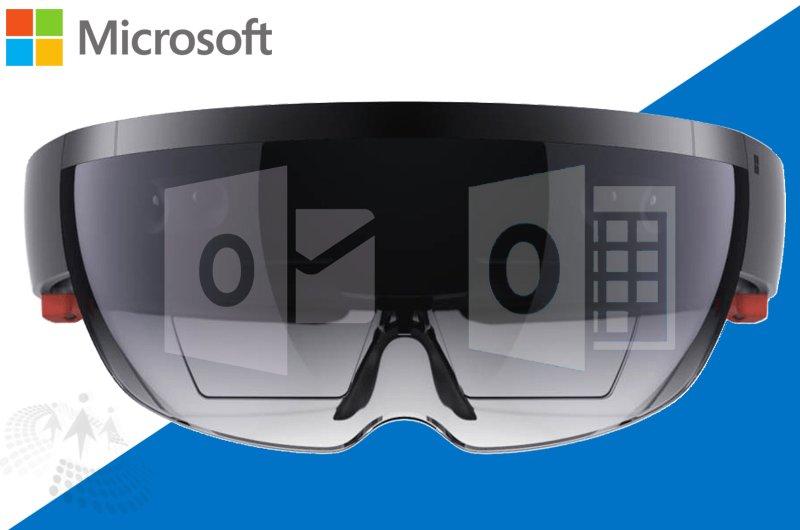 .@Microsoft Brings #OutlookMail & #Calendar To #HoloLens  cc @CsharpCorner @tahseenjamil