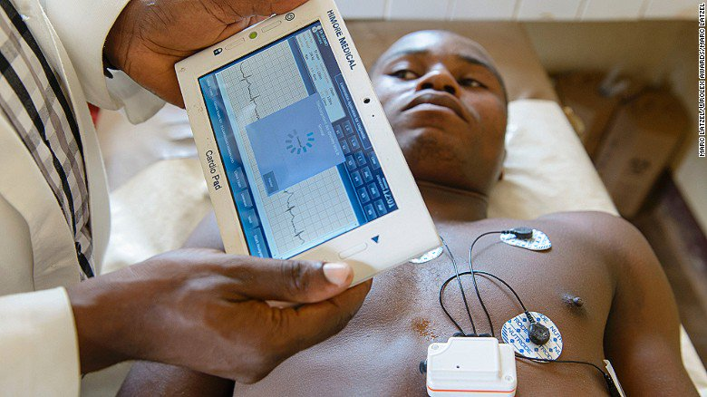 28-year-old Cameroonian invents handheld tablet to bring medicine to rural areas
