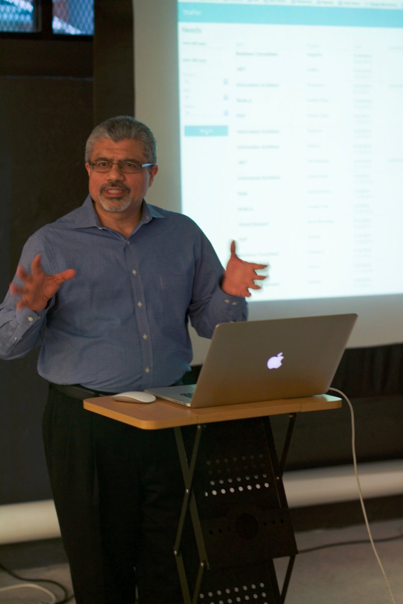 If you missed @NareshJBhatia talk at AngularJS Boston, check out the project called Staffer