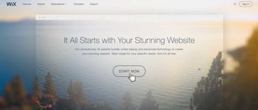 Wix's new ADI tool uses artificial intelligence to build a Website for you