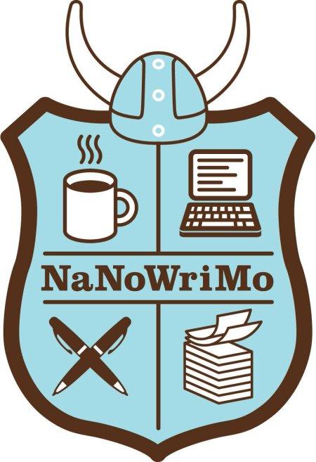 Logo NaNoWriMo reto de escritura creativa