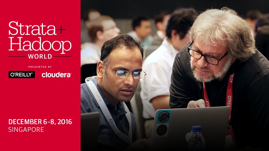 To do this weekend: Apply to speak at #StrataHadoop Singapore  Proposals due June 21 #bigdata