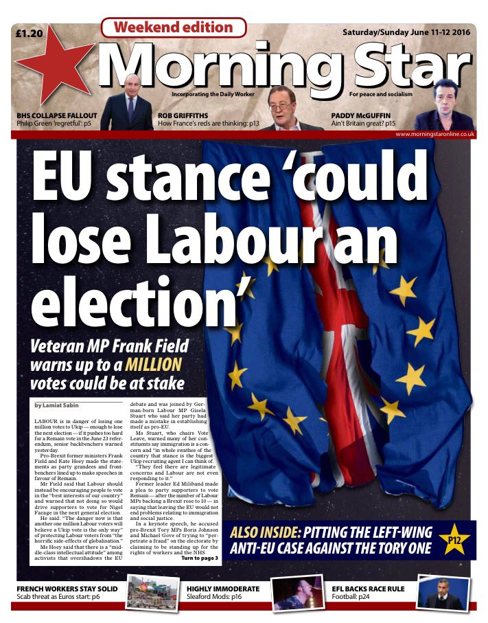 Image result for picture Morning Star EU