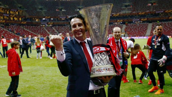 Image result for emery europa league