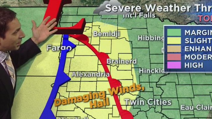 HD Decor Images » Parts of minnesota at risk for severe weather today  watch     Parts of Minnesota at risk for severe weather today  Watch  MorningWXGuy s  forecast