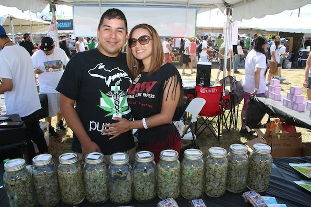 Check Out Photos from Day 1 of MI Medical #CannabisCup: