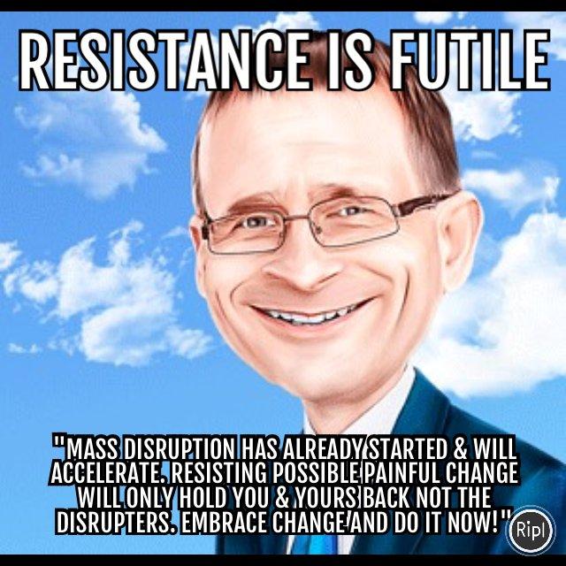 Resistance is futile #cloud #iot #bigdata  via