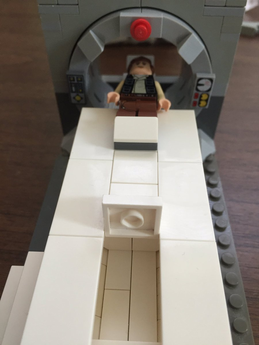 ben taragin on Twitter    TheBrickNetwork Rebel pilot defrosted  c o     ben taragin on Twitter    TheBrickNetwork Rebel pilot defrosted  c o vision  loss weakness  Lucky to have Lego ct scanner with sub parsec scan