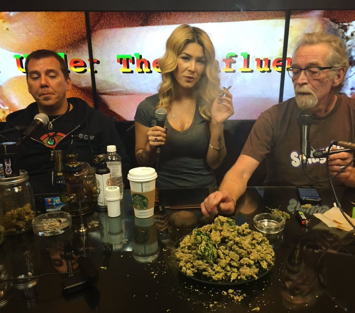 Happy 4:20! Get high with Marijuana Man & friends LIVE NOW on