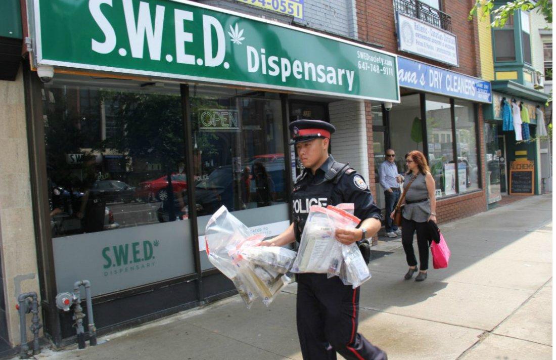 Toronto Marijuana Shop Operators Call Charges 'Ridiculous' #Toronto #dispensaries #Canada