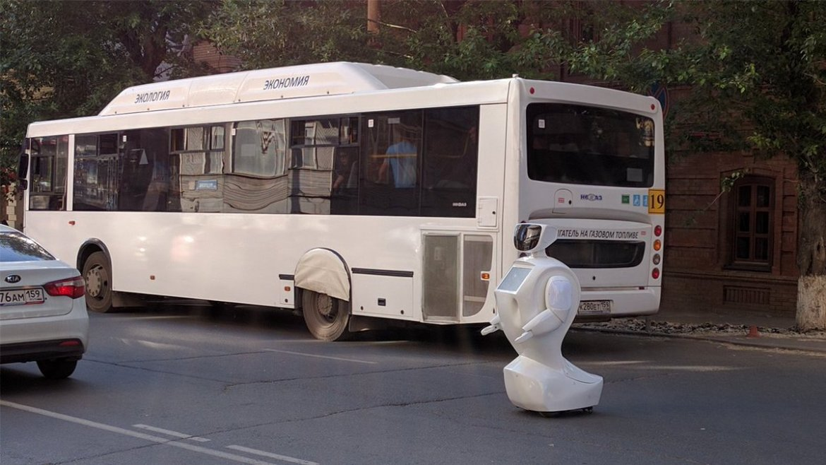 Courageous robot escapes oppressors, runs out of battery in the middle of…  #Wearables #IoT