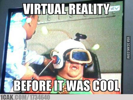 Virtual reality before it was cool... #warkopDKI