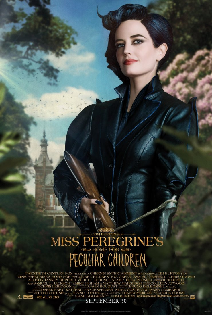 Miss Peregrine's Home for Peculiar Children Character Posters Unveiled 1