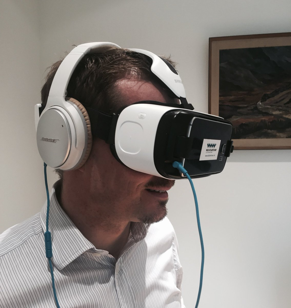 Tried the new Virtual Reality and 360° videos from @Failte_Ireland?  Surprisingly immersive!