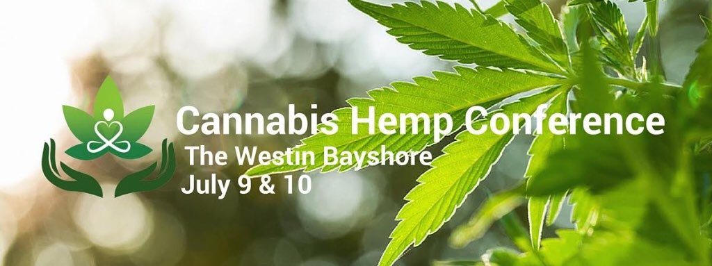 Curious about pot? Come to the #Vancouver Cannabis Hemp Conference @hemp_cannabis July 9-10!