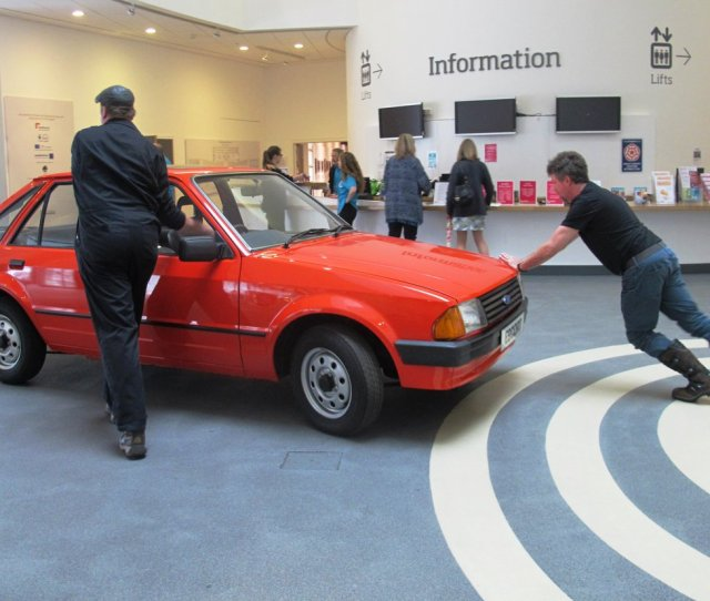 Nationalmuseumslpool On Twitter Back In  The Millionth European Manufactured Ford Escort Was Made In Liverpool Now On Display Museumliverpool