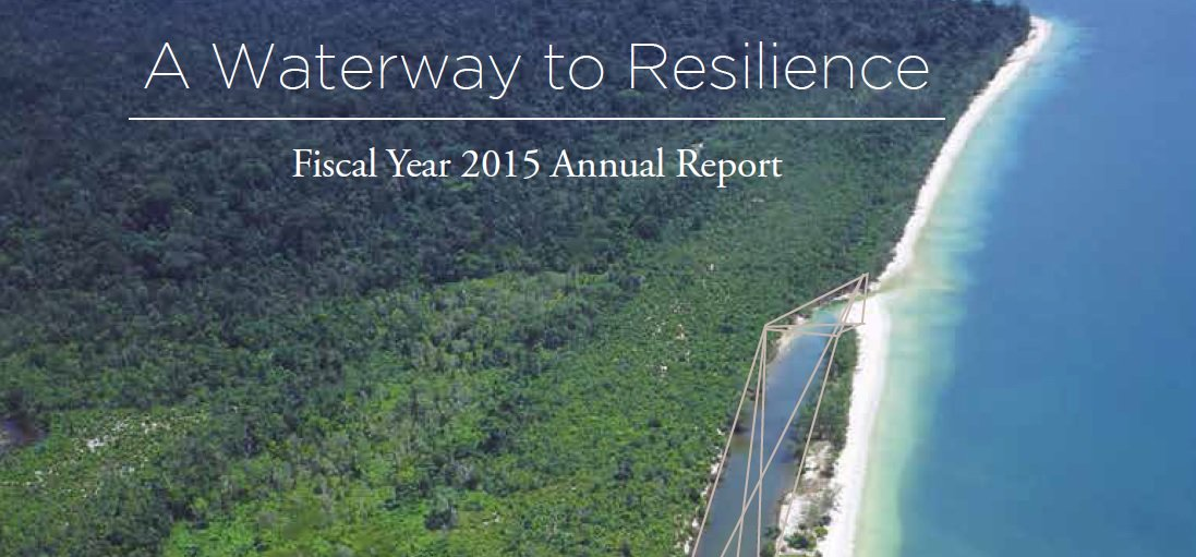 A waterway to #resilience: @WorldBankWater's Water Partnership Program annual report (FY15):