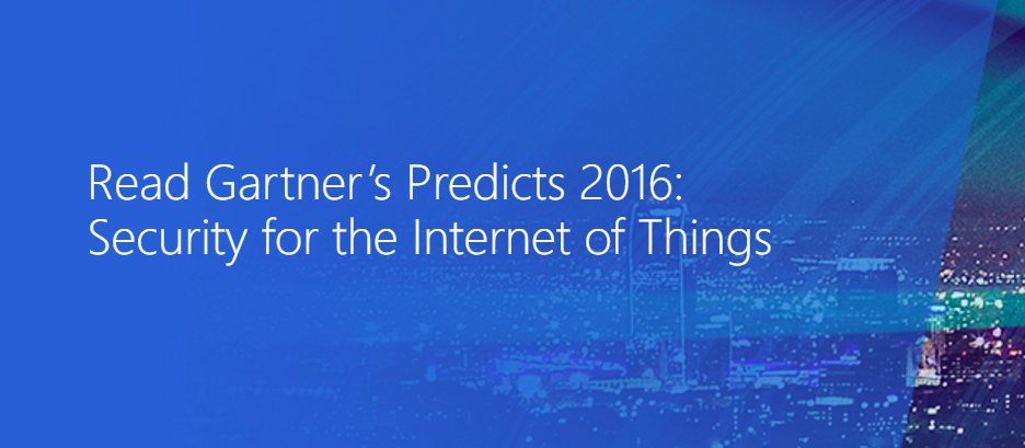 Keep your business safe by reading up on the latest security report from Gartner. #IoT