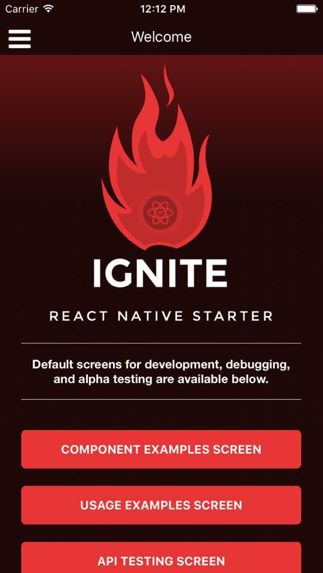 The ideal starting app for #ReactNative with best practices, generators... via @infinite_red