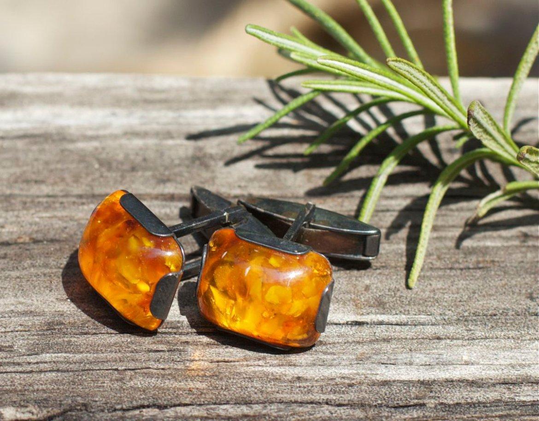 Vintage amber cufflinks   #etsymntt  #etsyspecialt #integritytt #growthpromoter #bigdata